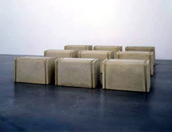 Rachel Whiteread Nine Tables